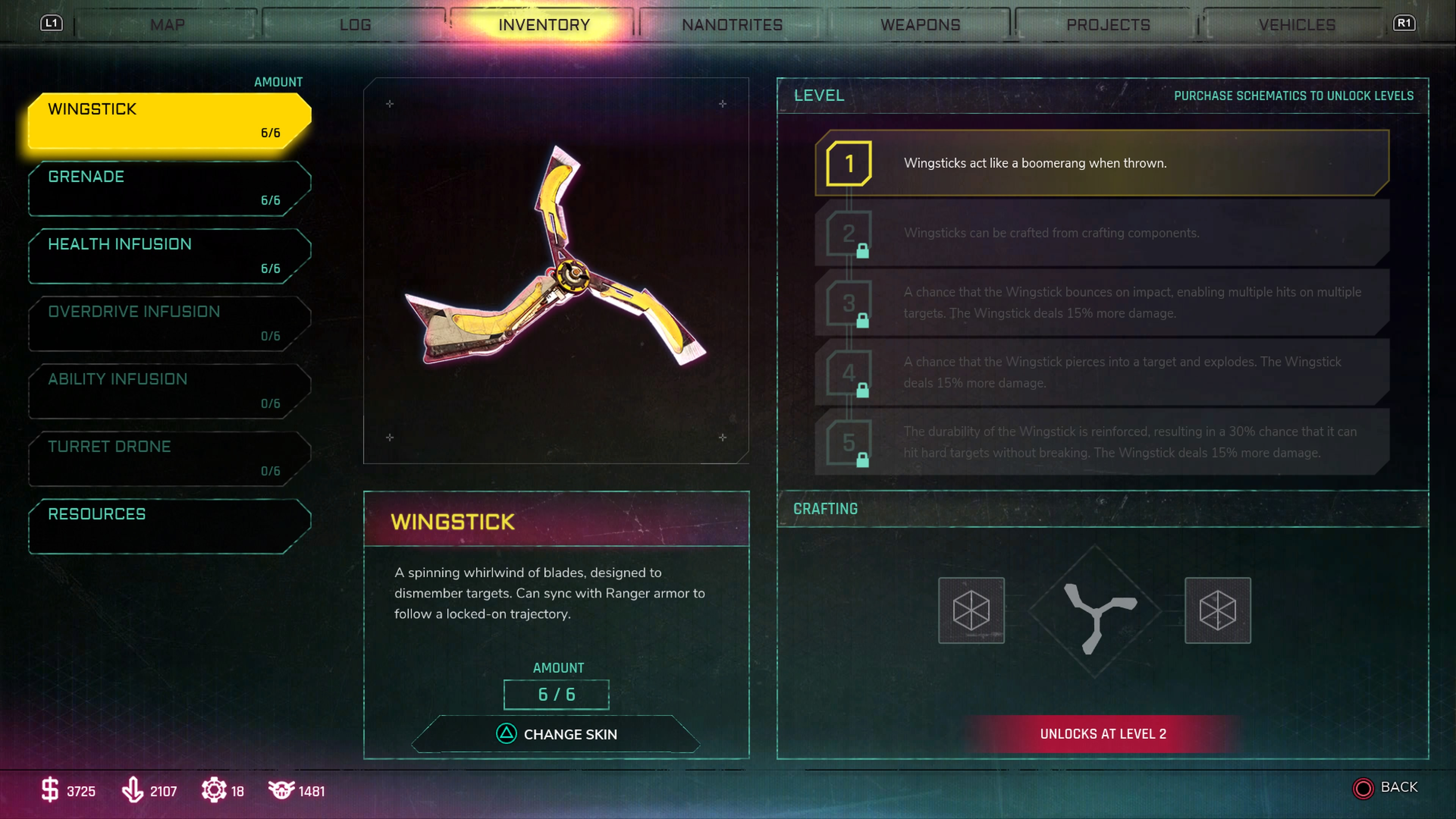 RAGE 2 How to Craft