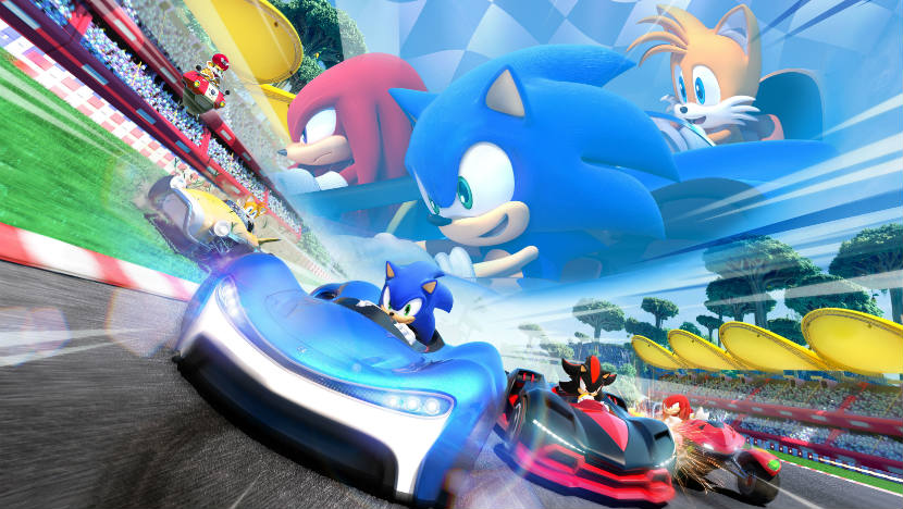 team sonic racing review feature