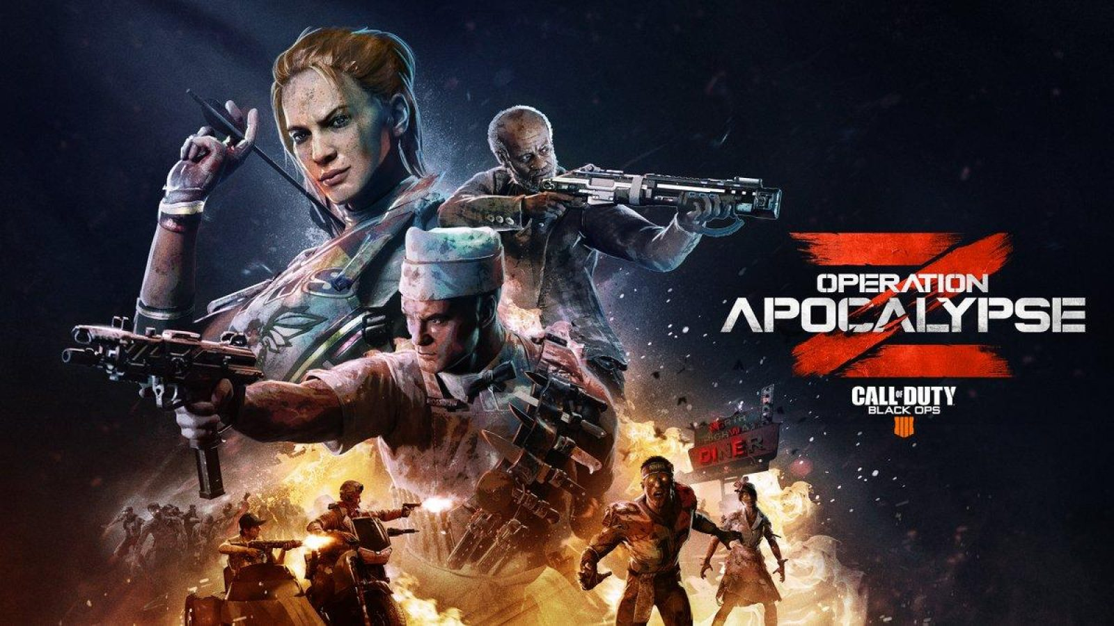 Call Of Duty Black Ops 4 Operation Apocalypse Z Update Begins July 9th