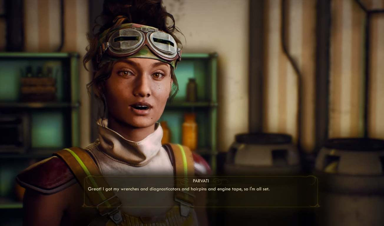 The Outer Worlds Companions Have Special Unlockable Combat Abilities