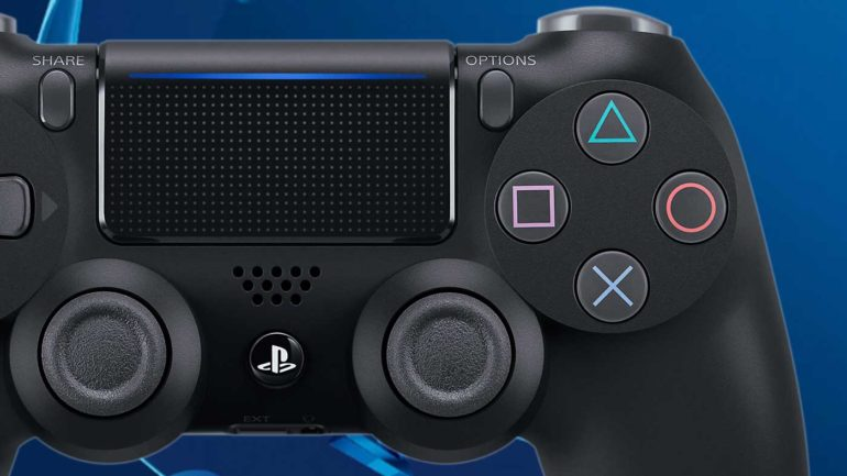 PlayStation x button cross