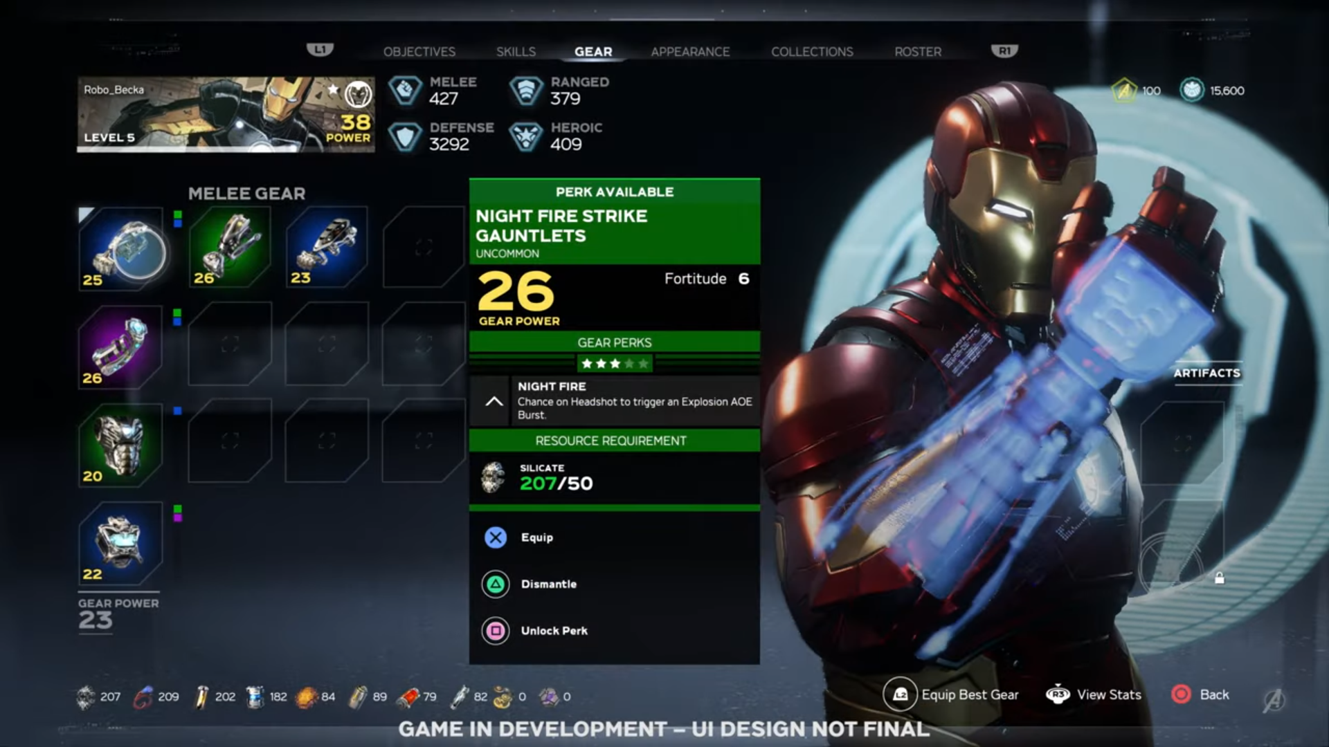 Marvel's Avengers Overview Gives Us First Look at Hub and Inventory