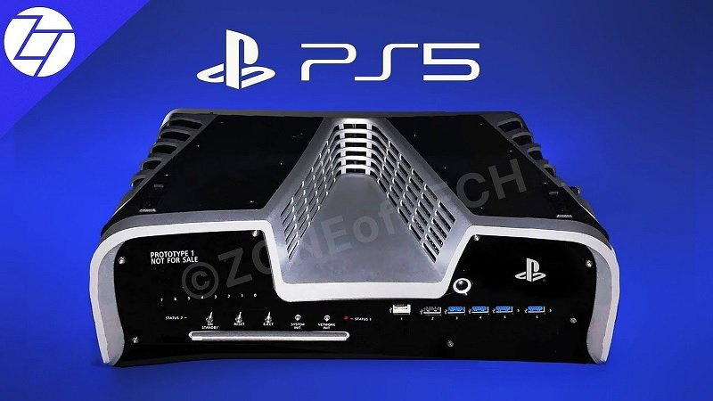 Here's an Actual Photo of the PlayStation 5 Dev Kit