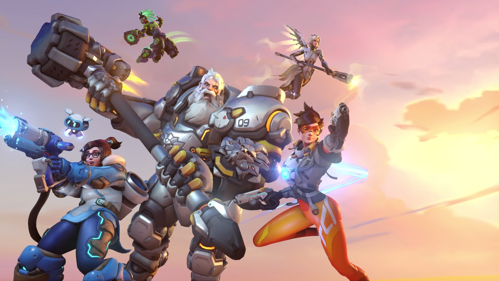Overwatch 2 characters new looks upgraded