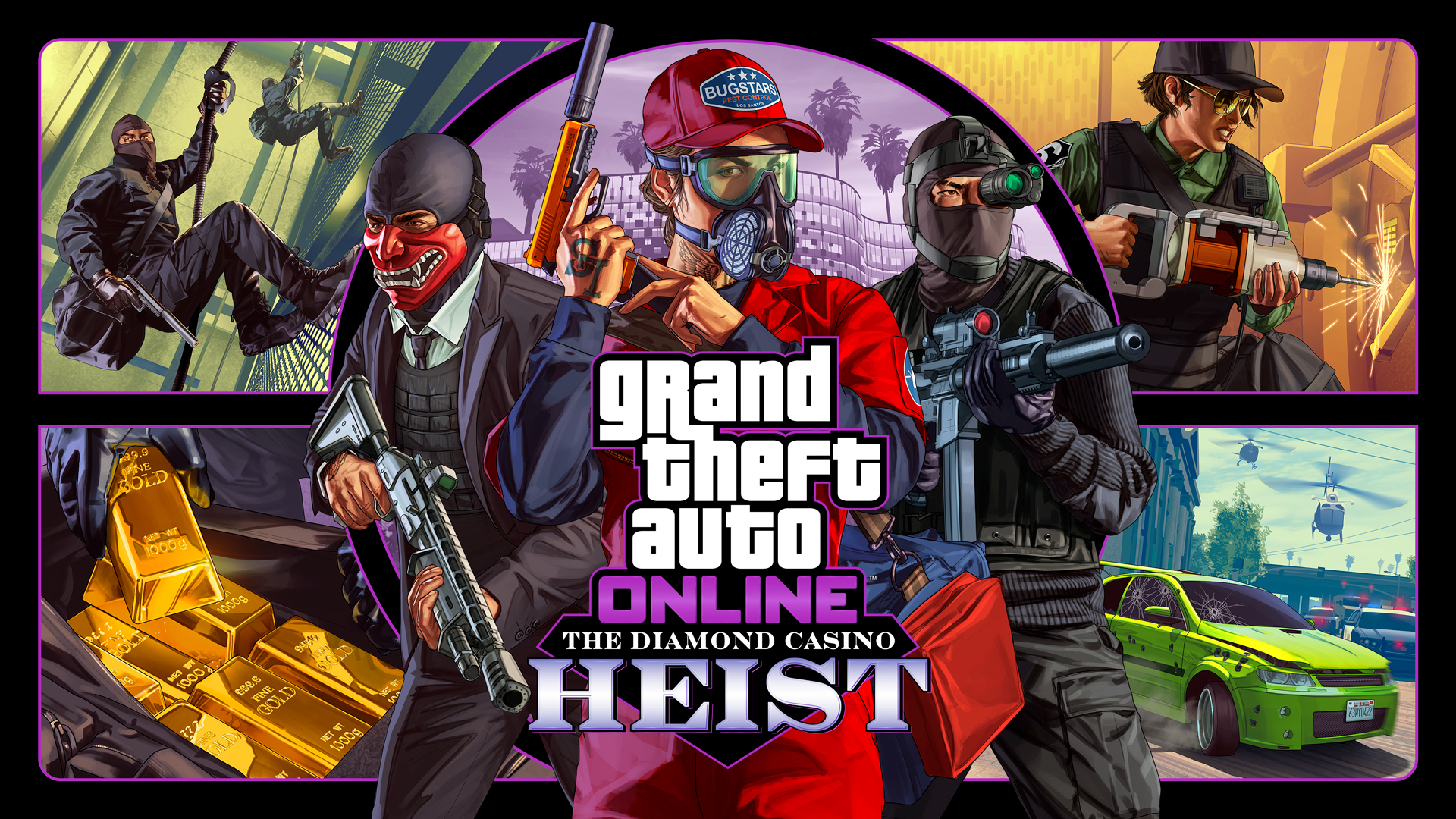 Get Ready for the Score of a Lifetime When the Diamond Casino Heist Infiltrates GTA Online Later This Month