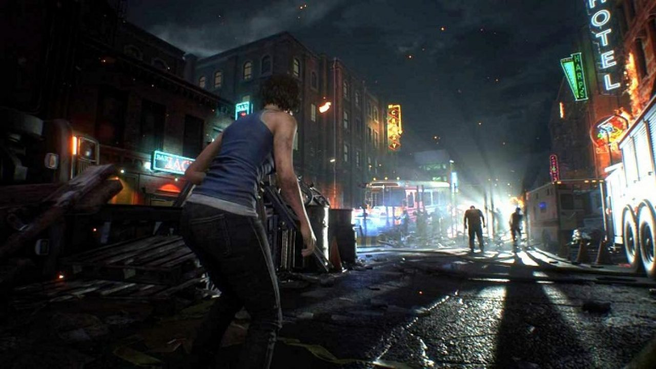 Resident Evil 3 Demo Coming Soon New Gameplay Shows Raccoon City
