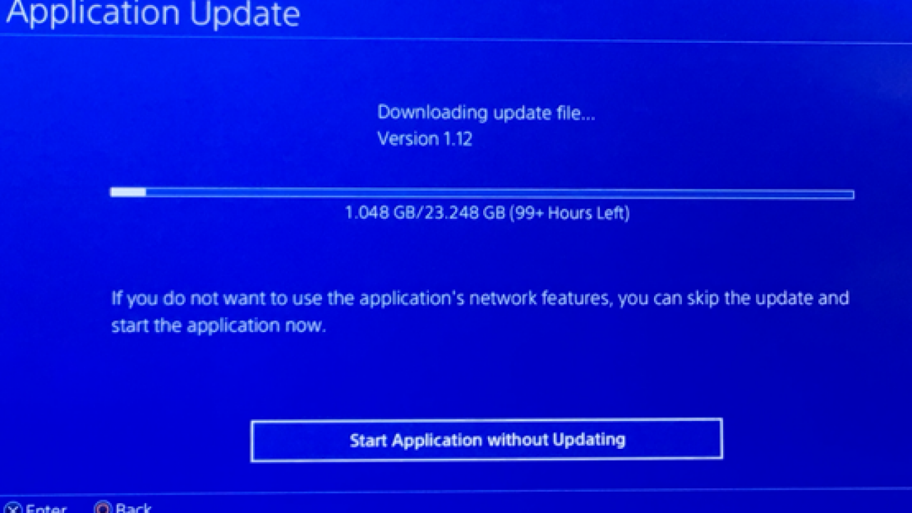 playstation slowing download speeds sony