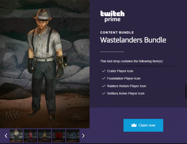 fallout 76 wastelanders twitch prime