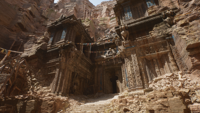 Unreal Engine 5 PS5 gameplay tech demo