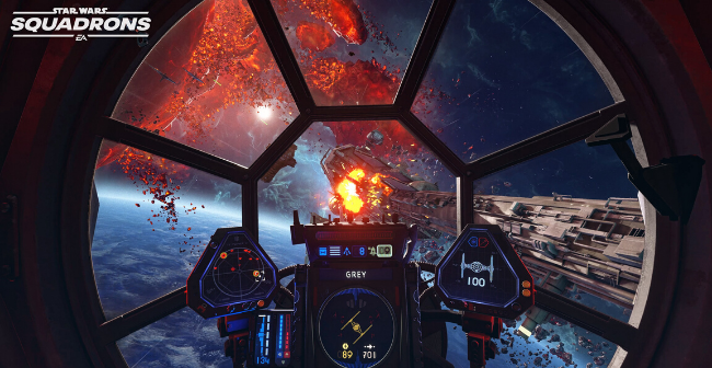 star wars squadrons gameplay reveal