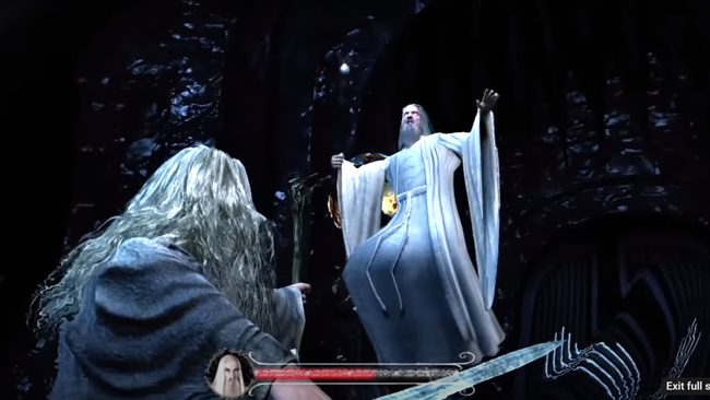 lord of the rings game that failed