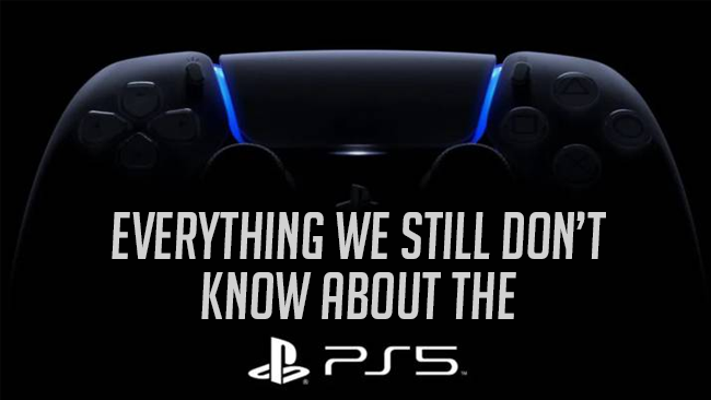 Everything we still dont know about the ps5 features