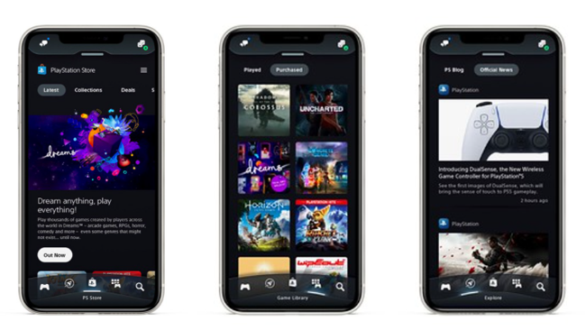 new PlayStation app ps app update ps5 1
