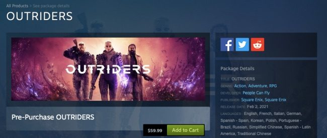 outriders release date