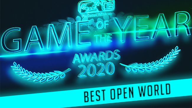 PSLS Game of the year awards 2020 best open world game winner