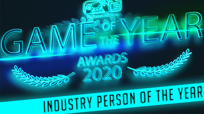 PSLS Game of the year awards 2020 industry person of the year winner