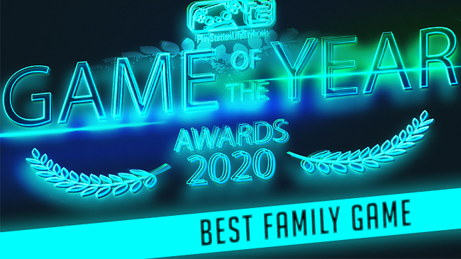 PlayStation LifeStyle Game of the Year 2020 Best Family Game Sackboy