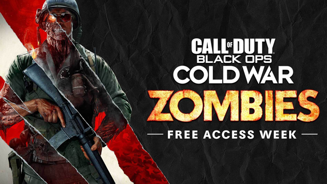 Call of duty black ops cold war zombies free access week 1