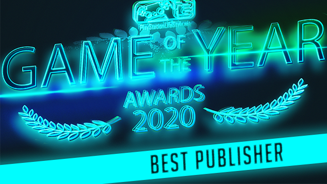 PSLS Game of the year awards 2020 best publisher winner