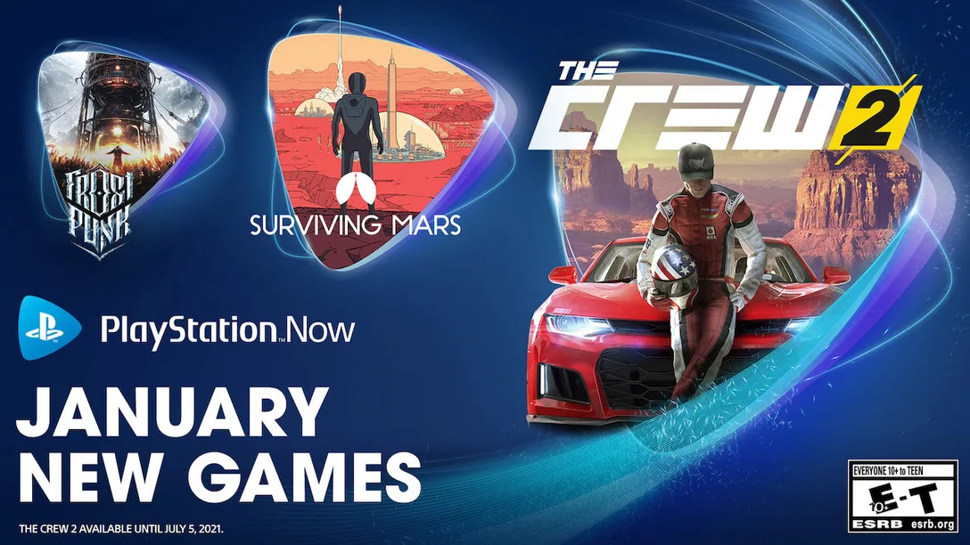 PS Now January 2021