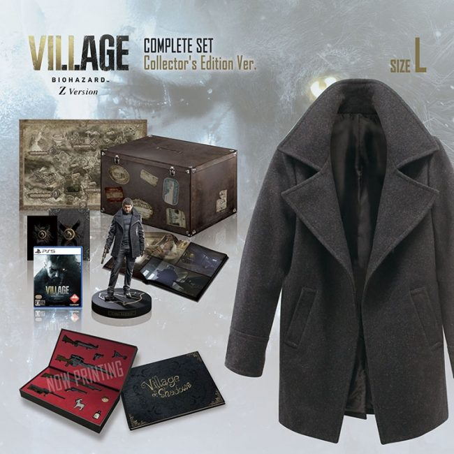 RE Village Complete Set Collector's Edition