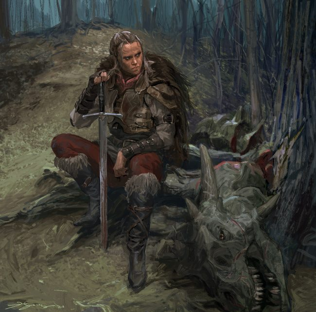 Concept Arts From Naughty Dog Dev's Gives Birth to Speculations That the Studio Is Working on a Fantasy Game