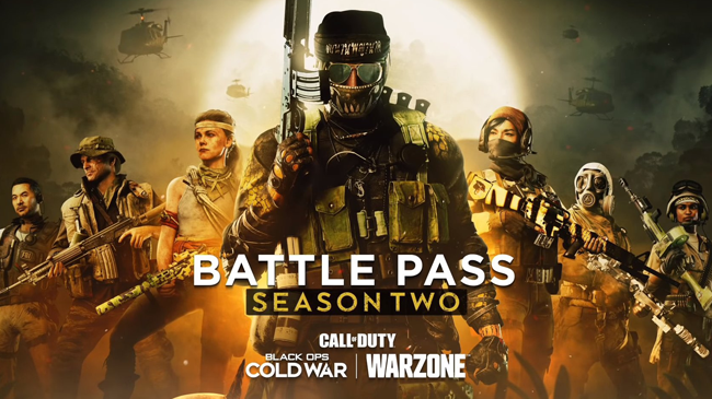 Call of Duty black ops cold war warzone season two battle pass