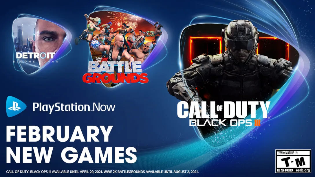 PlayStation Now February 2021