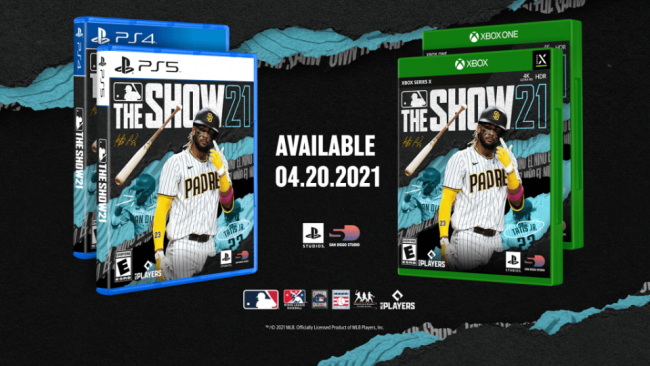 mlb the show 21 cover xbox PlayStation studios
