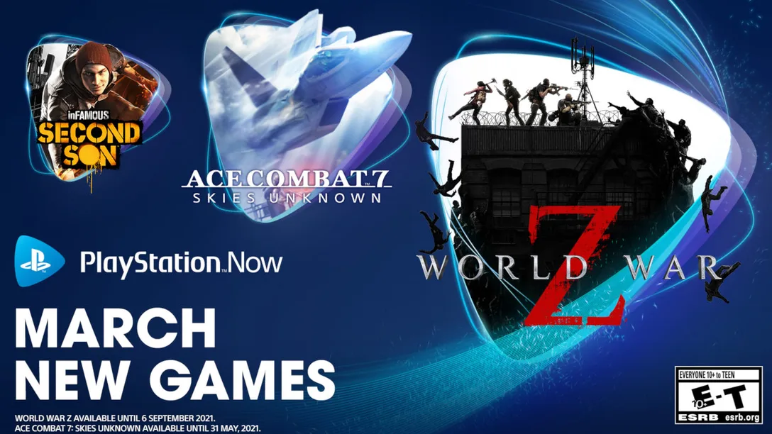 PlayStation Now March 2021