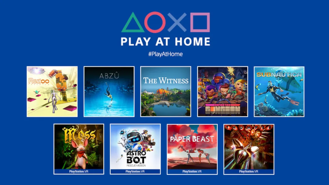 PlayStation Play at Home 2021 free games march