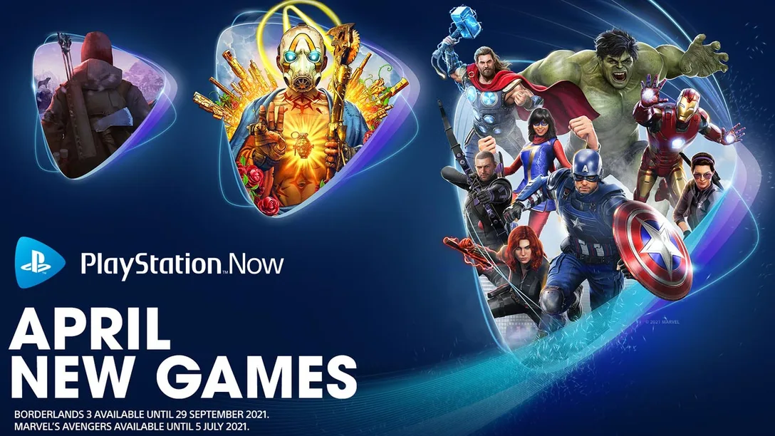 PlayStation Now April 2021