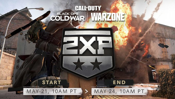 Call of Duty Double XP May 2021