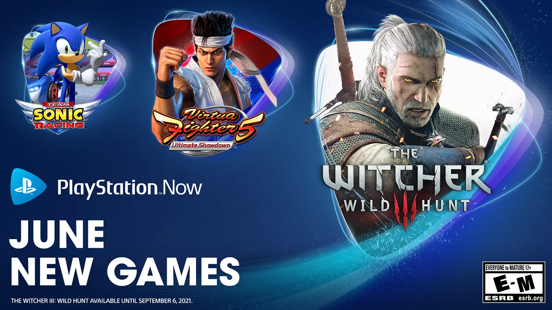 PlayStation Now June 2021