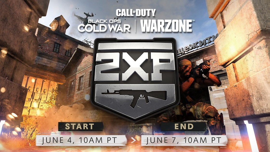 Call of Duty Double Weapon XP June