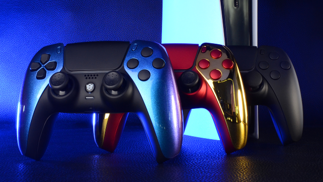 custom dualsense ps5 controller back buttons hex rival order now