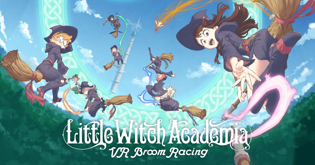 little witch academia vr broom racing PSVR