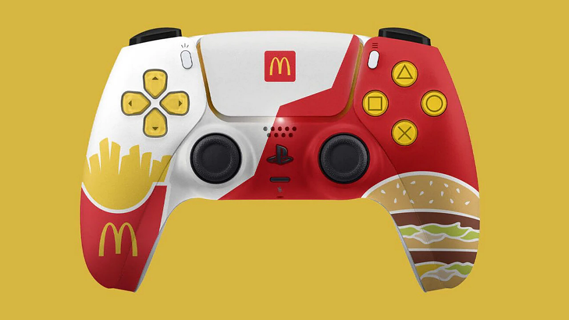 Sony Stops McDonalds Releasing Limited Edition DualSense Controllers