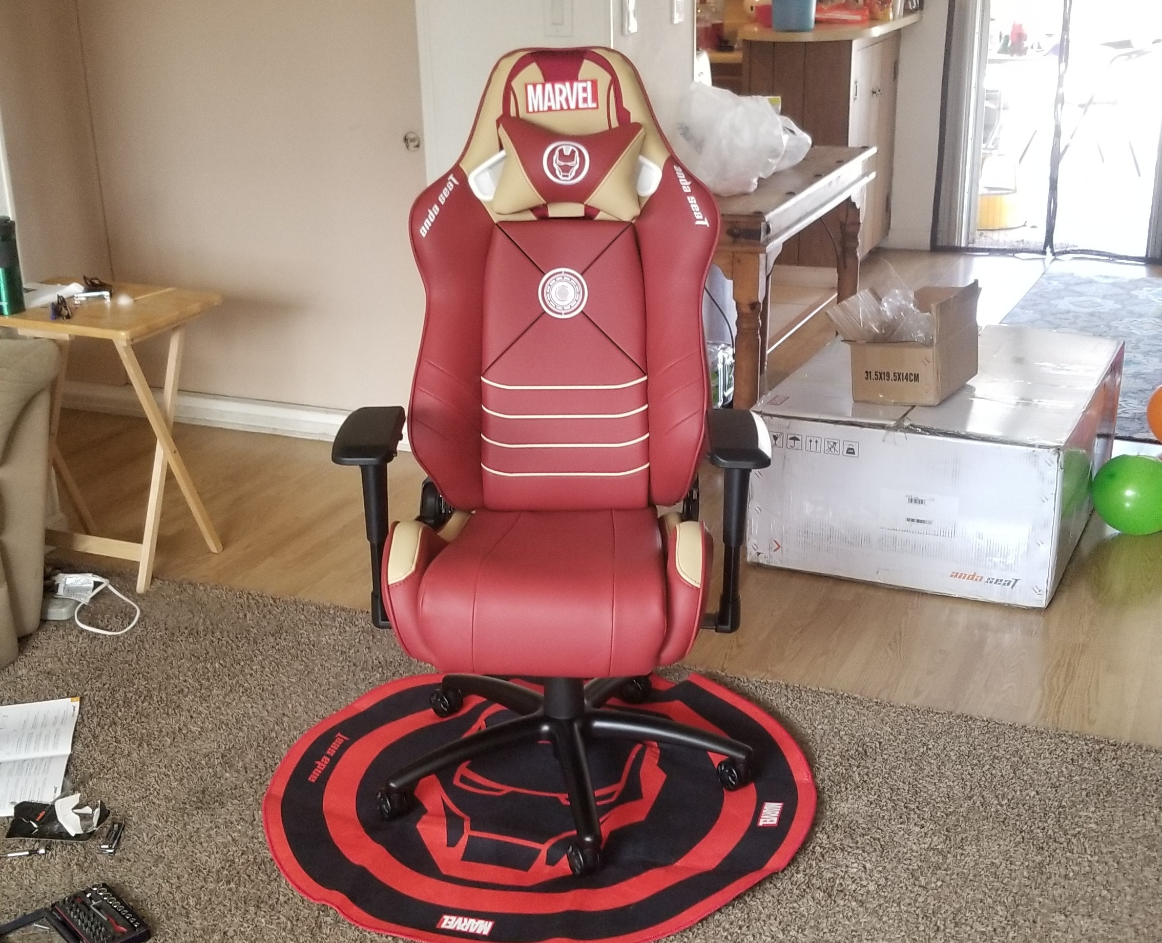 AndaSeat Iron Man Edition Gaming Chair Review