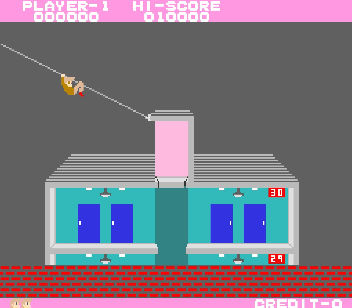 Arcade Archives Elevator Action PS4 screenshots