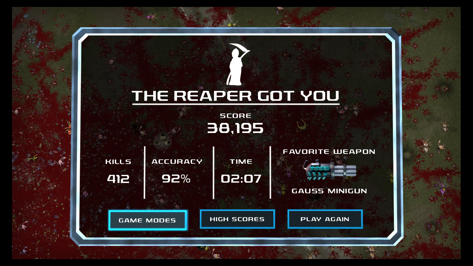 The Reaper Will Always Get You... Eventually.
