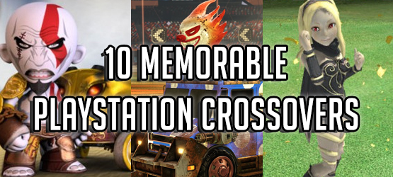 10 Memorable PlayStation Crossovers