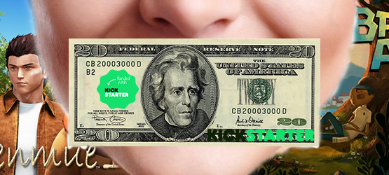 Kickstarting Shenmue III, Broken Age, and More – Money Where Your Mouth Is