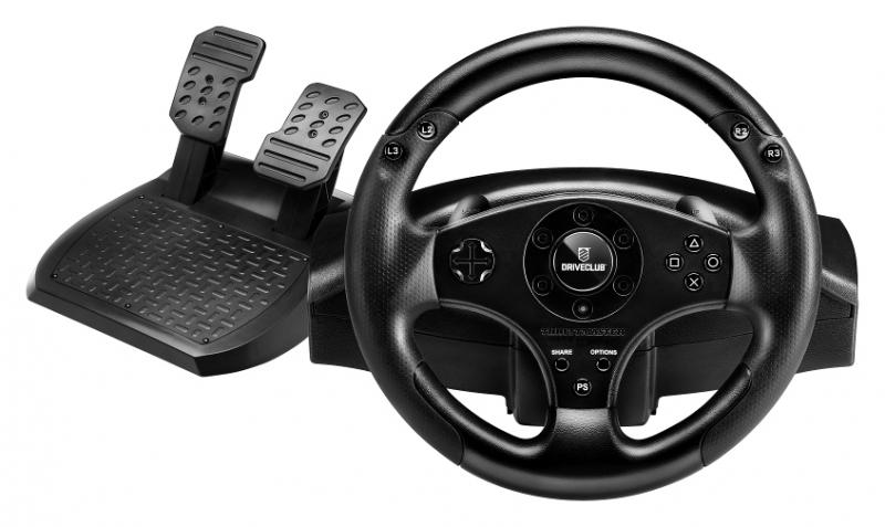 DriveClub Will Have Wheel Support