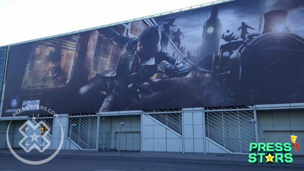Assassin's Creed Syndicate E3 2015 Banner