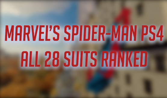 Marvel's Spider-Man PS4 - All 28 Suits Ranked