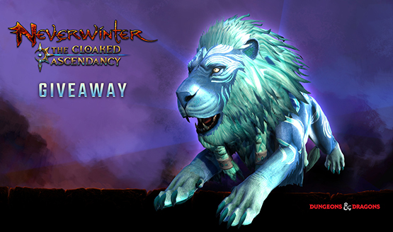 Neverwinter Azureous Lion Mount Giveaway Page 1