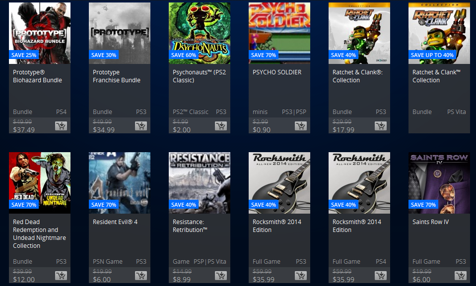 PlayStation 20th Anniversary Sale (Sale Prices)