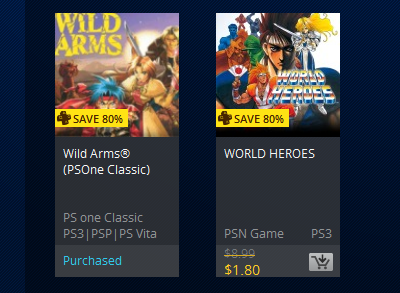 PlayStation 20th Anniversary Sale (PS+ Prices)