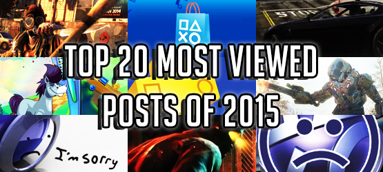 Top 20 Most Viewed Posts of 2015